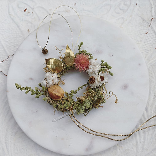 "BOHEMIAN 2"" MINI WREATH"