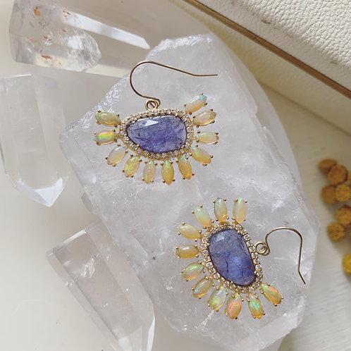 TANZANITE DREAM Earrings