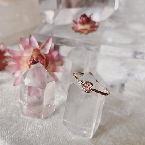 You & Me Ring - Blush Pink