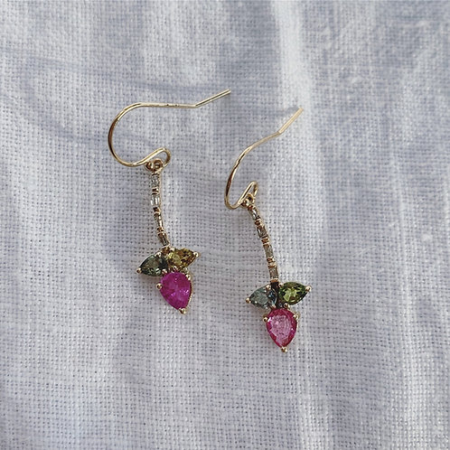 WATERLILY Earrings - Pink