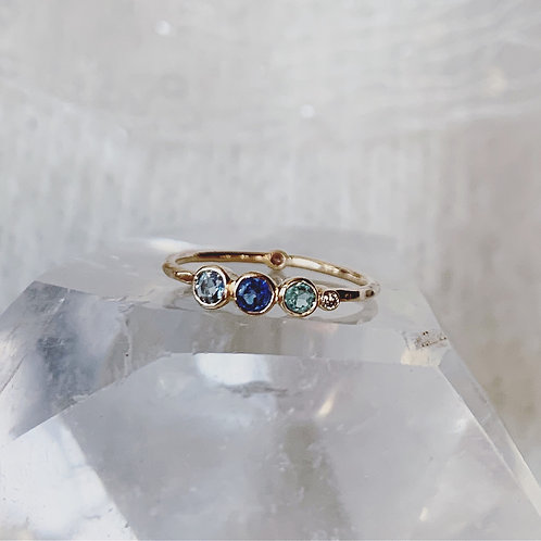 SECRET TRIO Ring - BLUE