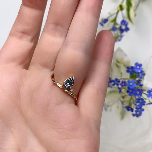 PETAL Ring - Blue
