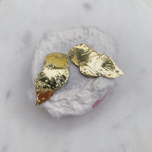 MORUSE Leaf Stud Earrings