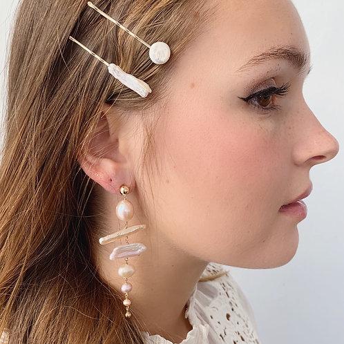 BIRCH Pearl Earrings - C