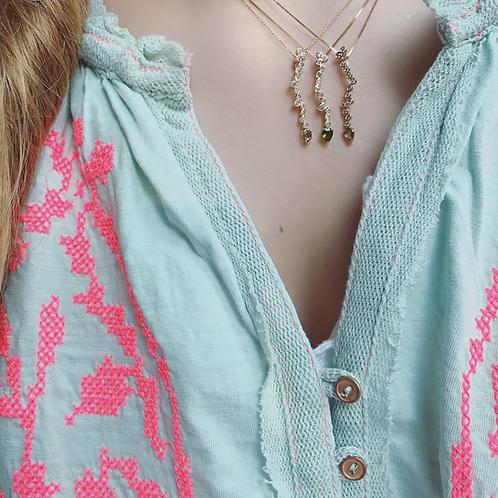 SIP Necklace - GREEN