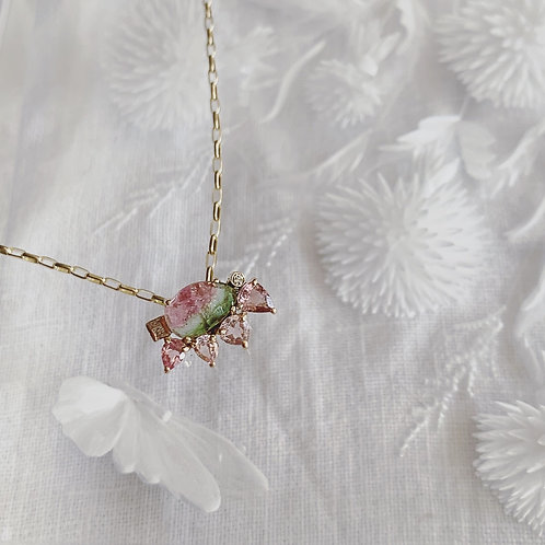 BOTANY Necklace - Blush Petal