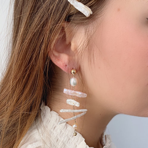 BIRCH Pearl Earrings - E