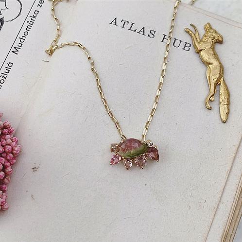 BOTANY Necklace - Blush Petal