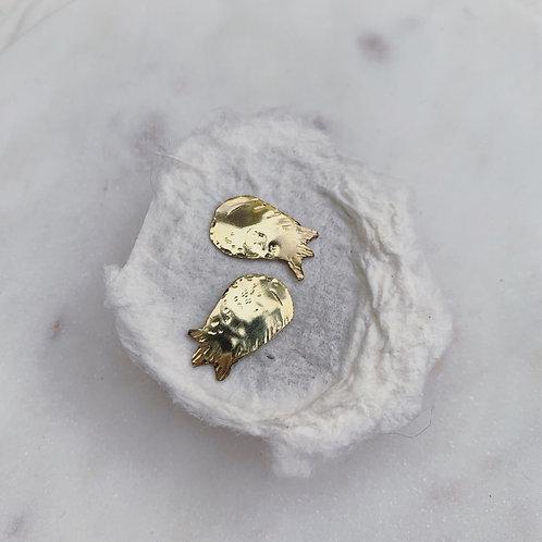 BELL Leaf Stud Earrings