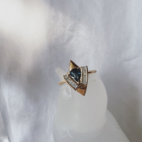FLY HIGH Ring - Blue/Green