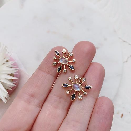 SUNDEW MOON Earrings
