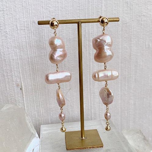 BIRCH Pearl Earrings - D