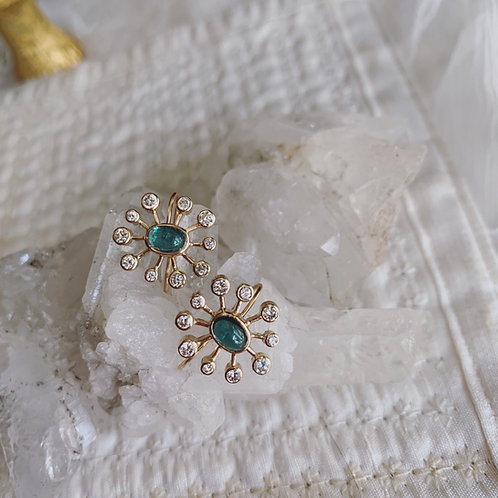 SUNDEW BLUE Earrings