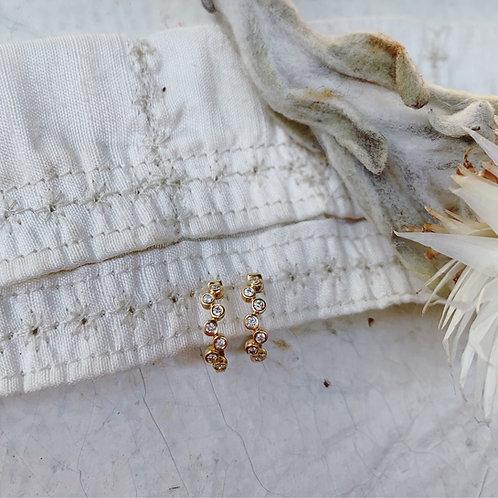 MINI ACHILLEA Diamond Earrings