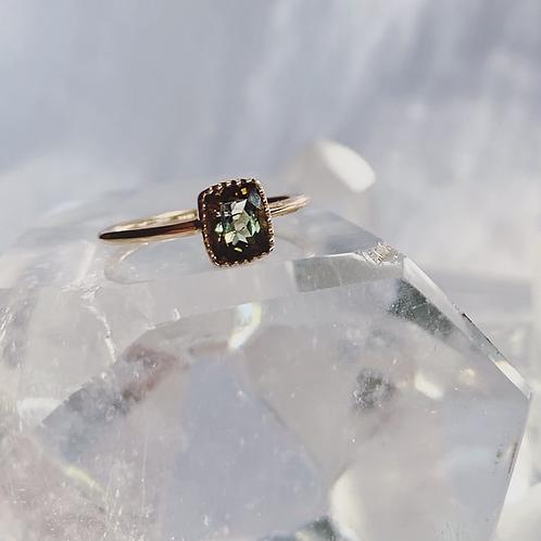 PETUNIA Ring - Green
