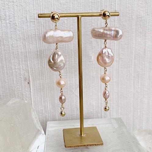 BIRCH Pearl Earrings - F