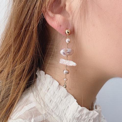 BIRCH Pearl Earrings - H