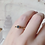 Thumbnail: SINGLE Tourmaline Ring - Blue