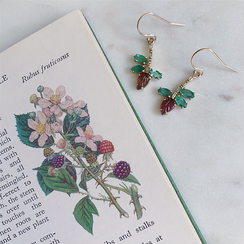 PALA Earrings - Emerald