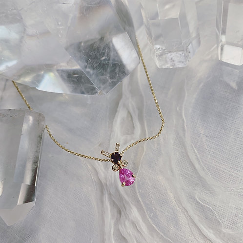 ANT Necklace - Pink Kiss
