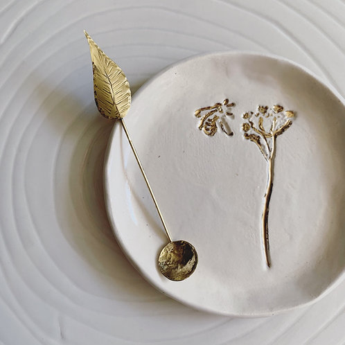 DASH OF SALT SPOON - SAGE LEAF