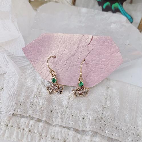 CADUCA Earrings - Emerald