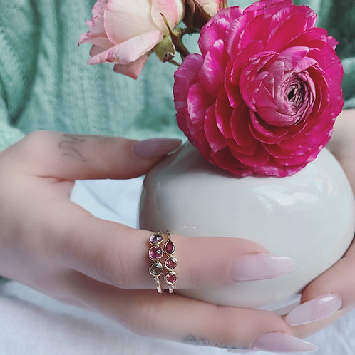 SECRET TRIO Ring - PINK