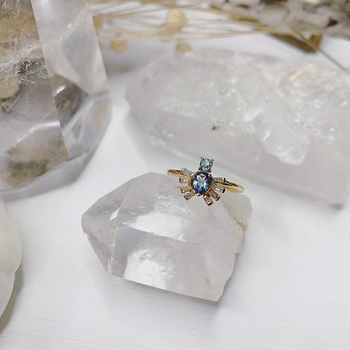 ROYAL BEETLE Ring - Blue
