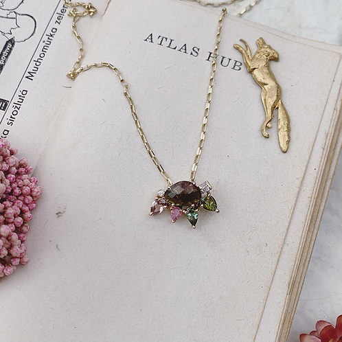 BOTANY Necklace - Spring Forrest