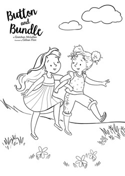Button and Bundle Colouring Sheets
