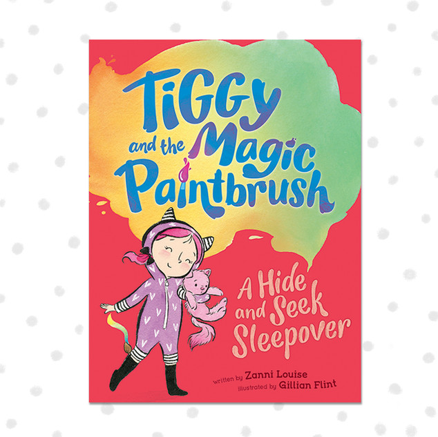 TIGGY AND THE MAGIC PAINTBRUSH - A Hide And Seek Sleepover