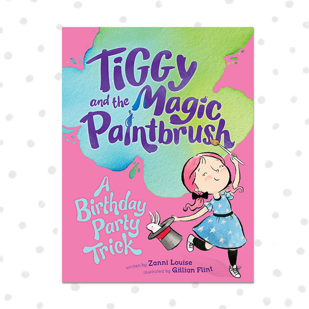 TIGGY AND THE MAGIC PAINTBRUSH - A Birthday Party Trick