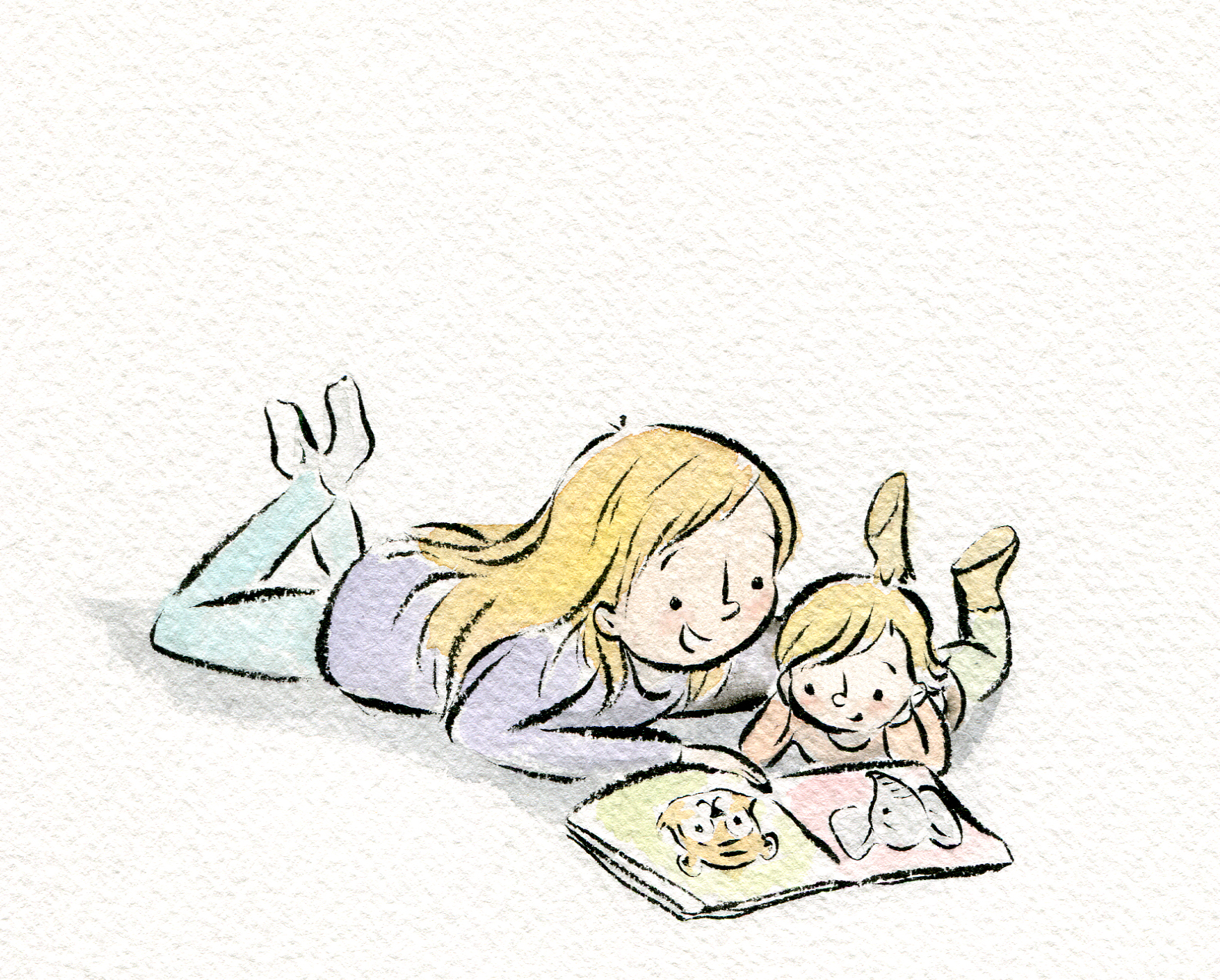 Reading together