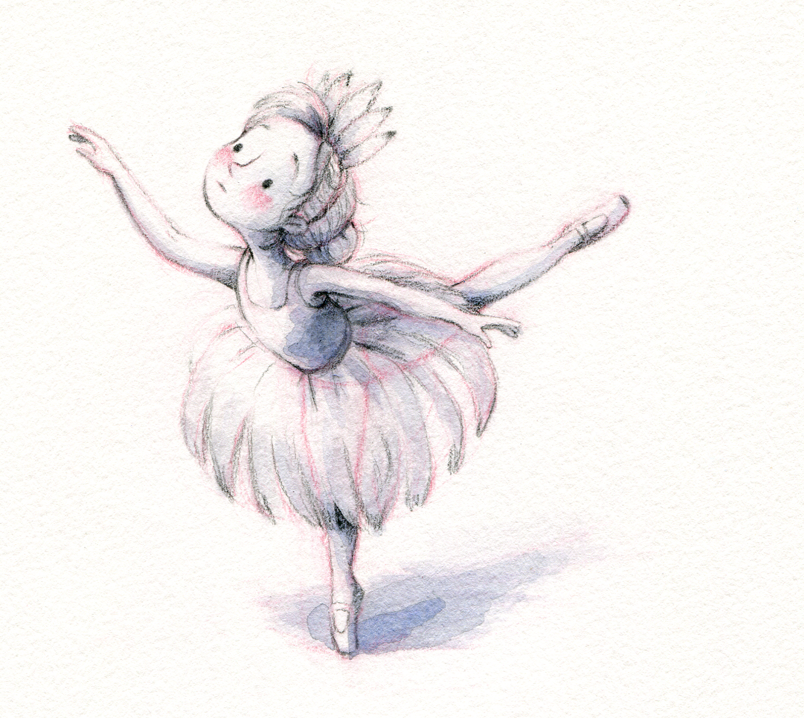 The reluctant ballerina