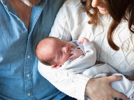 Pacifica Cozy Newborn Session