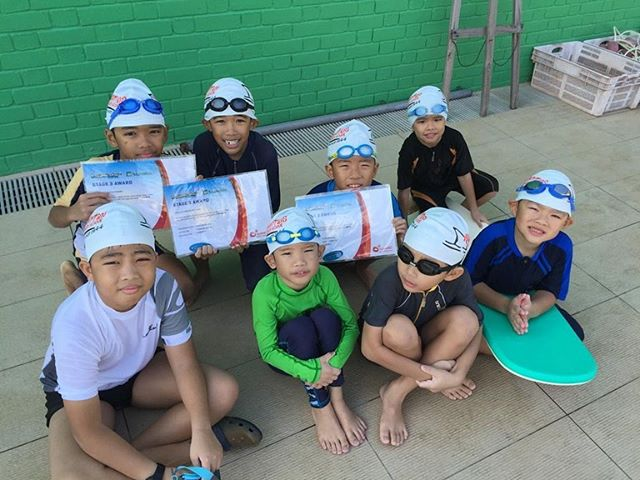 #happyfinsswimschool#Stage3award#goodjob