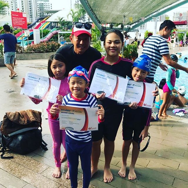 #SilverAwards#happyfinsswimschool #ICanS