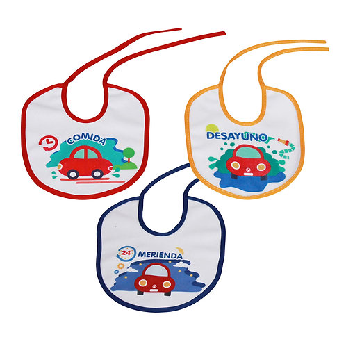 Baberos Para Las 3 Comidas - Infanti