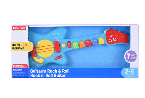 Guitarra Musical Rock And Roll - Fisher Price