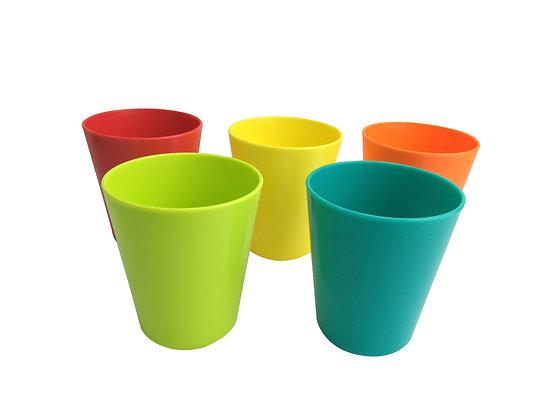 Vasos De 9 Oz Apilables 5 Piezas - Infanti