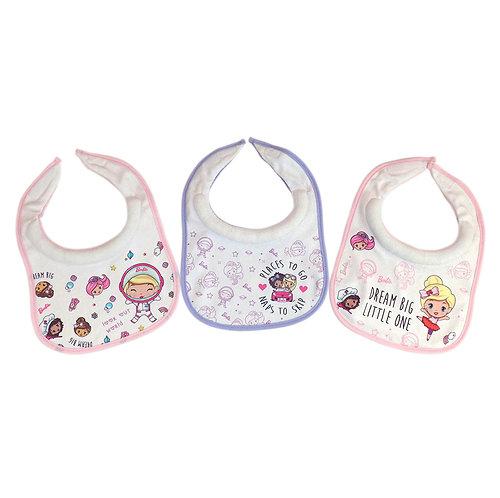 Babero Atrapa Babitas 3 Piezas - Mattel