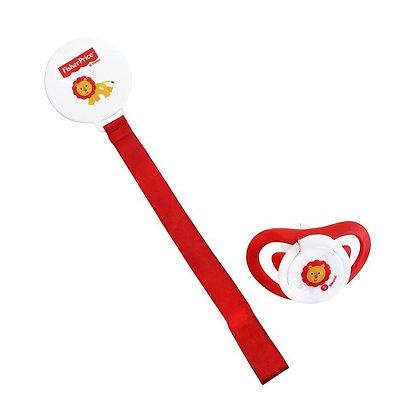 Chupón Con Clip Para Bebé Rojo - Fisher Price