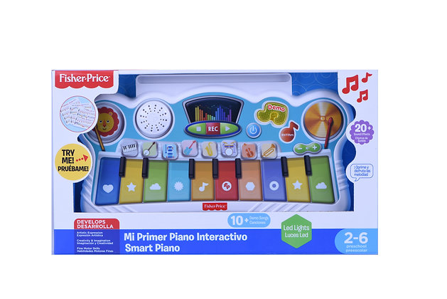 Mi Primer Piano Interactivo - Fisher Price
