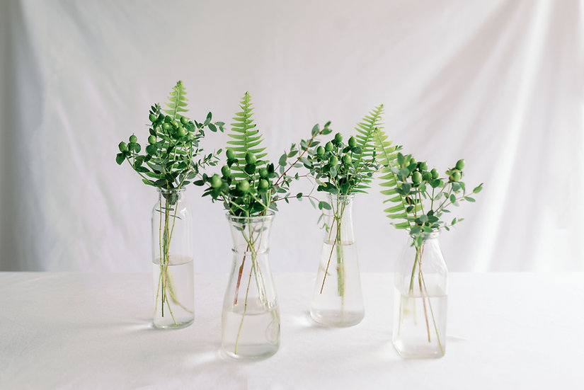 Bud Vase Set (4)