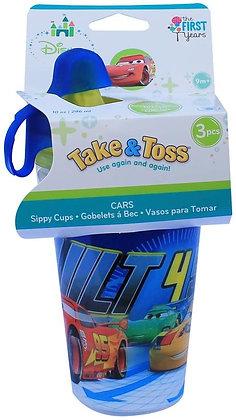 Juego De 3 Vasos Entrenadores Cars – Disney