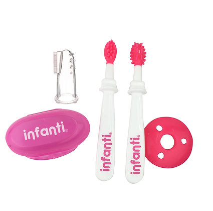 Set De Higiene Dental 4 Piezas - Infanti