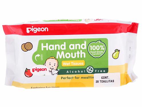 Toallitas Húmedas Hand & Mouth - Pigeon