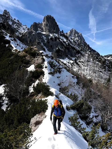 Po grebenu Ljubeljščice