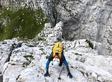 Greben Vevnica - Visoka Ponca