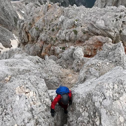 Zadnja ovira pred prihodom na greben